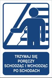 Obrazek dla kategorii Trzymaj się poręczy schodząc po schodach (823-111)