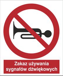 Obrazek dla kategorii Znak zkaz używania sygnału dźwiękowego (628)