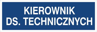 Kierownik ds. technicznych (801-66)