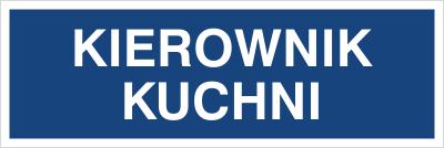 Kierownik kuchni (801-68)
