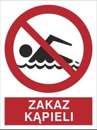 Obrazek dla kategorii Znak Zakaz kąpieli (655)