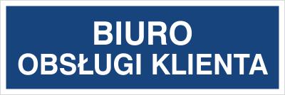 Biuro obsługi klienta (801-82)