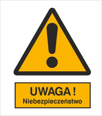 Ogólny znak ostrzegawczy (ostrzeżenie, ryzyko niebezpieczeństwa) (301)