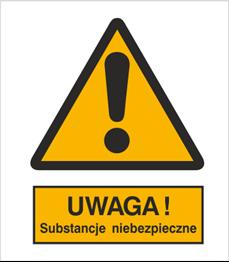 Obrazek dla kategorii Znak Ostrzeżenie przed substancjami niebezpiecznymi (301-10)