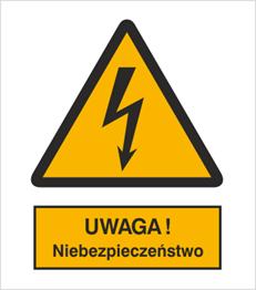 Obrazek dla kategorii Znak Ostrzeżenie przed niebezpieczeństwem (307-01)