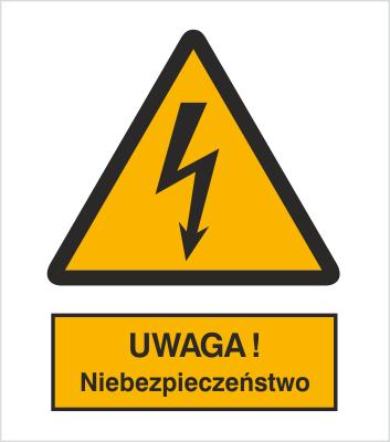 Znak Ostrzeżenie przed niebezpieczeństwem (307-01)