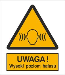 Obrazek dla kategorii Znak Ostrzeżenie przed wysokim poziomem hałasu (325)