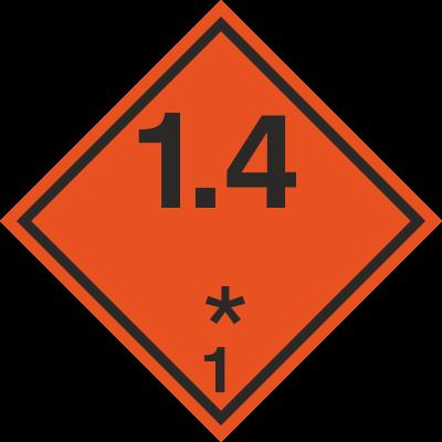Znak Substancje i przedmioty wybuchowe (215-02)