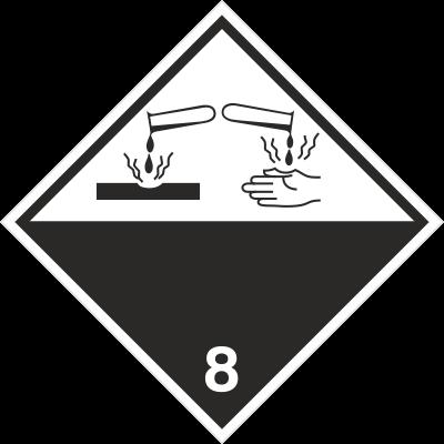 Znak Materiały żrące (215-04)