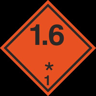 Znak Substancje i przedmioty wybuchowe (215-05)