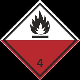 Obrazek dla kategorii Znak Materiały samozapalne (215-08)