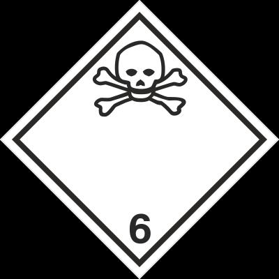 Znak Materiały trujące (215-16)