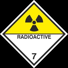 Obrazek dla kategorii Znak Materiały promieniotwórcze (215-17)
