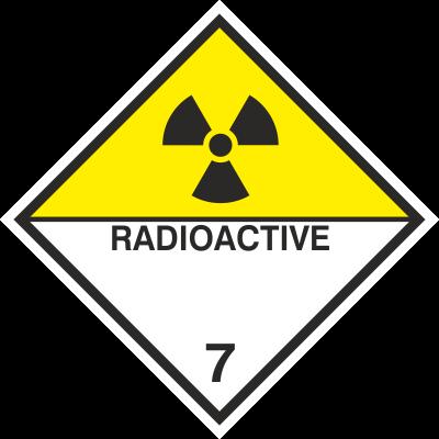 Znak Materiały promieniotwórcze (215-17)