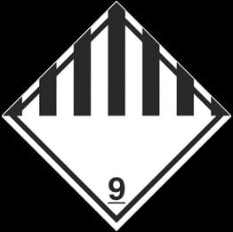 Obrazek dla kategorii Znak Różne materiały i przedmioty niebezpieczne (215-18)