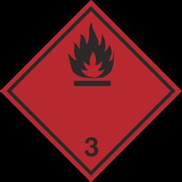Obrazek dla kategorii Znak Materiały ciekłe zapalne (215-19)