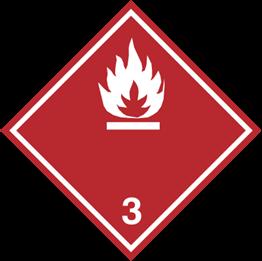 Obrazek dla kategorii Znak Materiały ciekłe zapalne (215-21)