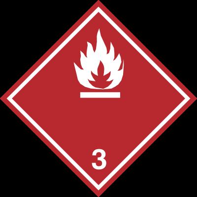 Znak Materiały ciekłe zapalne (215-21)