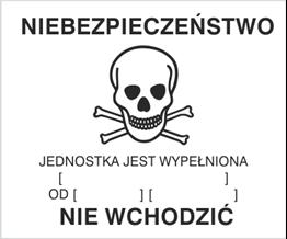 Obrazek dla kategorii Znak Ostrzeżenie o gazowaniu (215-30)