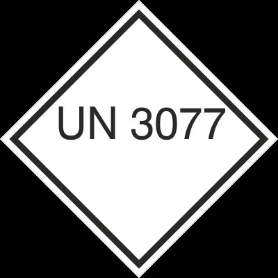 Znak UN 3077 (215-39)