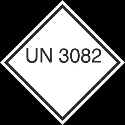 Znak UN 3082 (215-40)