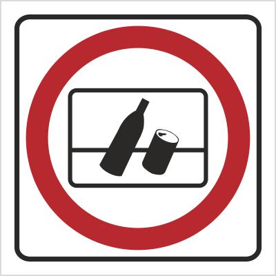 Znak Nie wyrzucać (702-78)