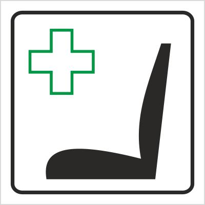 Znak Miejsce uprzywilejowane (702-83)