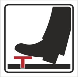 Obrazek dla kategorii Znak Woda, obsługiwać pedałem (702-84)