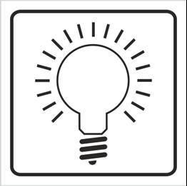 Obrazek dla kategorii Znak Włącznik oświetlenia (702-89)