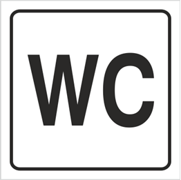 Obrazek dla kategorii Znak Toaleta (702-90)