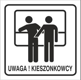Obrazek dla kategorii Znak Uwaga kieszonkowcy (702-91)