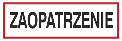 Znak Zaopatrzenie (702-67)