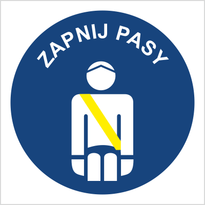 Znak Zapnij pasy (702-71)