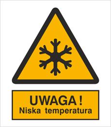 Obrazek dla kategorii Znak Ostrzeżenie przed niską temperaturą (328)