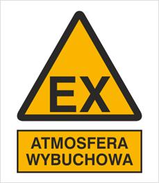 Obrazek dla kategorii Znak Atmosfera wybuchowa (332-01)