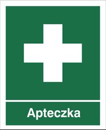 Obrazek dla kategorii Znak Apteczka (501)
