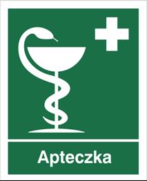 Obrazek dla kategorii Znak informacyjny apteczka (z opisem) (507)