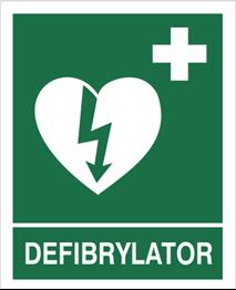 Obrazek dla kategorii Znak Defibrylator (508)
