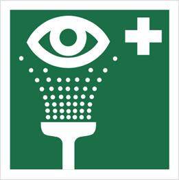 Obrazek dla kategorii Znak Prysznic do przemywania oczu (503-01)