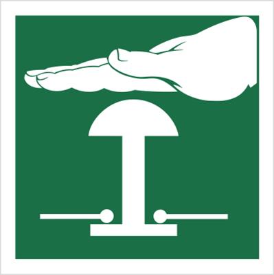 Znak Zatrzymanie awaryjne (505)
