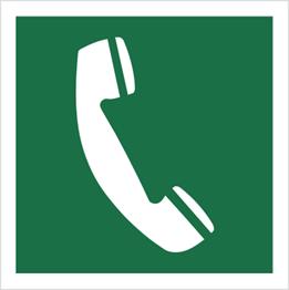 Obrazek dla kategorii Znak Telefon awaryjny (506)