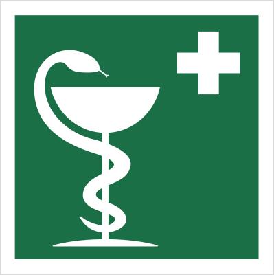 Znak Apteczka (507-01)
