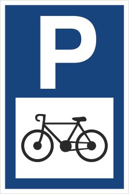 Znak Parking tylko dla rowerów (703-15)
