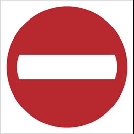 Obrazek dla kategorii Znak Zakaz wjazdu (702-01)