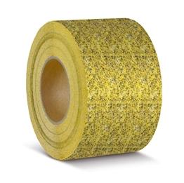 Obrazek Taśma antypoślizgowa do obiektów użyteczności publicznej żółta - rolka 100mm x 18.3m