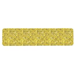 Obrazek Taśma antypoślizgowa do obiektów użyteczności publicznej żółta - arkusz 150x610mm, paczka 10 szt.