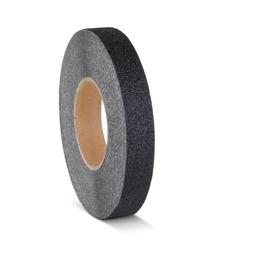 Obrazek  Taśma antypoślizgowa gruboziarnista czarna - rolka 25mm x 18.3m