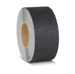 Obrazek  Taśma antypoślizgowa gruboziarnista czarna - rolka 75mm x 18.3m