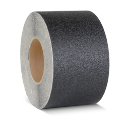 Obrazek Taśma antypoślizgowa, plastyczna gruboziarnista czarna - rolka 50mm x 18.3m