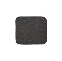 Obrazek Taśma antypoślizgowa, plastyczna gruboziarnista czarna - arkusz 50x650mm, paczka po 10 szt.